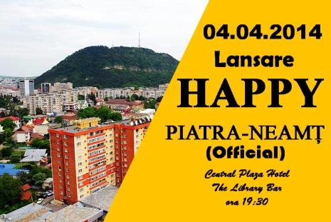 Lansare Happy